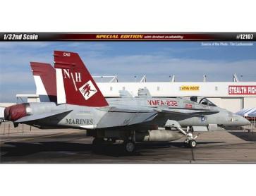 Academy 1/32 Usmc F/A-18A+ Vmfa-232 Red Devils - Aus Decals 12107