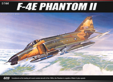 Academy 1/144 F-4E Phantom Ii 12605