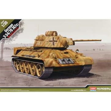 Academy 1/35 German T-34/76 747(R) 13502
