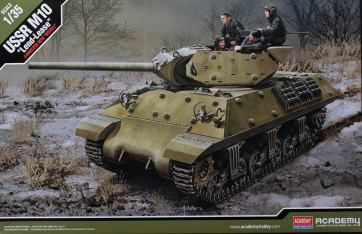 Academy 1/35 M10 Ussr (Lend-Lease) Kit 13521