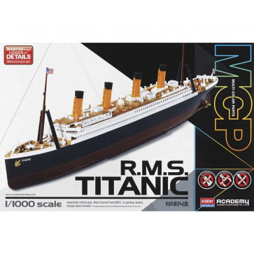Academy 1/1000 RMS Titanic 14217
