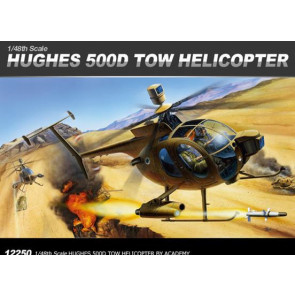 Academy 1/48 Hughes 500D Tow Helicopter 12250