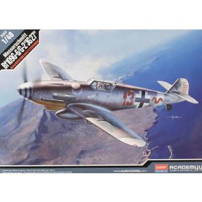 ACADEMY 1/48 Messerschmitt Bf109G-6/G-2 JG 12321