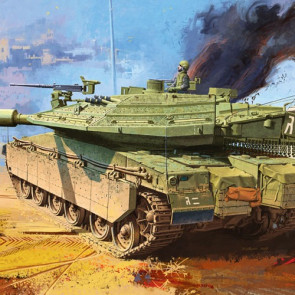 Academy 1/35 Merkava Mk.IV Lic 13227