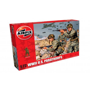 Airfix 1/72 WWII US Paratroops 00751