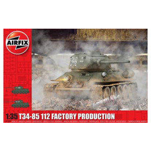 Airfix 1/35 T34/85 Ii2 Factory Production 1361