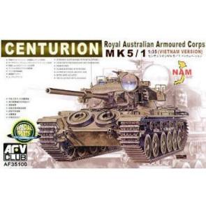 AFV 1/35 Centurion MK 5/1 (Vietnam Version) Royal Australian Arm Corp 35100