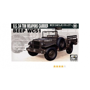 Afv Club 1/35 Wc51 3/4T Weapons Carrier 35s15