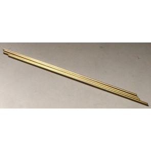 Albion Alloys Brass Tube Round 1.0 x 0.25mm x 1m (1pcs) bt1xm