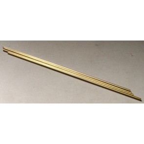 Albion Alloys Brass Tube Round 5.0 x 0.45mm x 1m (1pcs) bt5xm