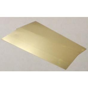 Albion Alloys Brass Sheet 0.12 x 100 x 250mm (2pcs) alb-sm1m