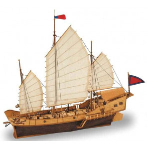 Artesania 1/60 Red Dragon Chinese Junk Classic Col 18020