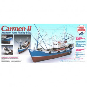 Artesania 1/40 Carmen II Wooden Ship Model 18030