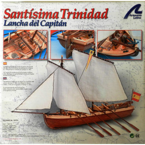 Artesania 1/50 Santisima Trinidad Wooden Ship Model 19014