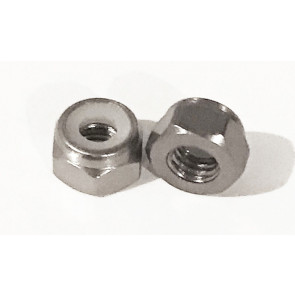 AT Alloy Lock Nut M2 Grey 2mm (6pc)