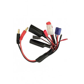 AT e2951 Multi Charge Cable to 4.0mm Bullet 14awg