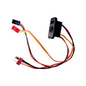 AT e4100 Switch (One/Off) Futaba W/T-Plugs
