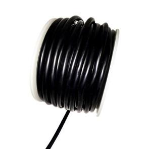 AT e4601 Silicone Wire 8awg Black OD 6.8mm 20cm
