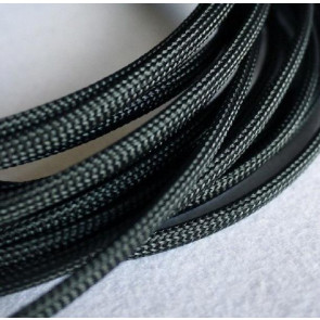 AT at-e4639 Expandable Braided Sleeving (W8mmx200mm) Black