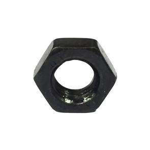 AT NUT M4 Black Metric 4mm Nut (6pk)