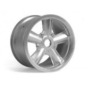 Axial Wicked Retro Monster Truck Wheel Matte Chrome (2) AX8005