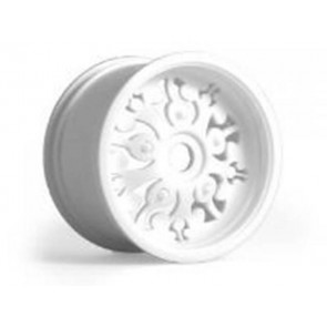Axial Signature Monster Truck Wheel White (2) AX8027