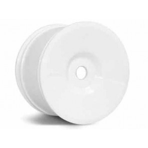 Axial Standard Truggy Dish Wheels White (6 Wheels) AX8033