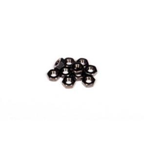 Axial m3 thin hex nut (black) 10pcs axa1040