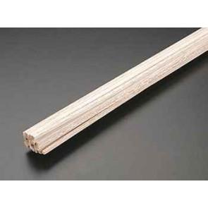 Pacific Balsa Stick 1x2X12IN/25.0X50X300mm (1) 1202