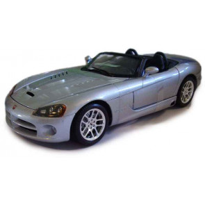 Bburago 1/18 Dodge Viper SRT-10 (Gold Collection) Silver 12043