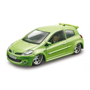 Bburago 1/32 Renault Clio Sport Green bb42006
