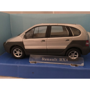 Cararama 1/43 Renault RX4 Silver 250nd-004