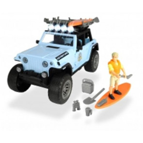 Dickie Toys Playlife Jeep Surfer Set 22cm 54679