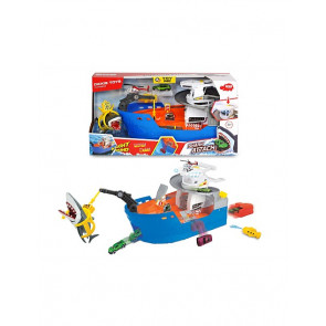 Dickie Toys Boat Shark Attack Light N Sound 55898