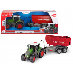 Dickie Toys Tractor Fendt 939 With Trailer Light N Sound 58912