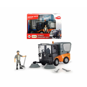 Dickie Toys Playlife Street Sweeper Set 19.5cmt 61259