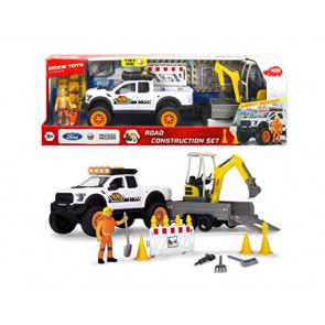 Dickie Toys Playlife Ford Raptor Road Contruction Set 41cm 61325