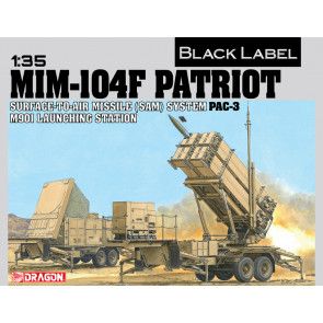 Dragon 1/35 MIM-104F Patriot Surface-To-Air Missile (Sam) System Pac-3 M901 3563