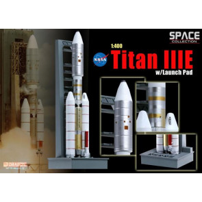 Dragon 1/400 Titan IIIE w/Launch Pad 56343