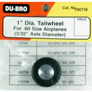 Dubro Tail Wheel 1in 100tw