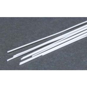 Evergreen Rod Styrene Plastic .020Inch (0.5x355mm) (10pc) 218
