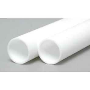 Evergreen Tube Styrene Plastic .500Inch (12.7x355mm) (2pc) 236