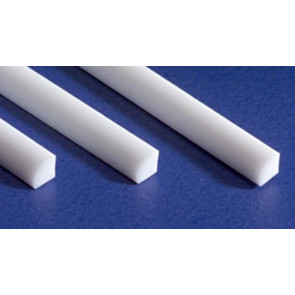 Evergreen Quarter Round Styrene Plastic .100Inch (2.5x355mm) (3pc) 250