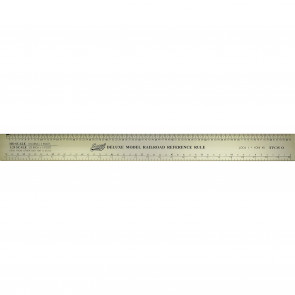 Excel Deluxe Model Reference Ruler 12Inch 55778
