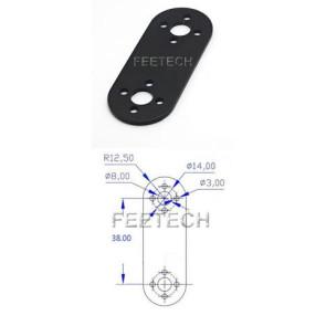 Feetech FK-YS001 Aluminum Connection Plate Servo Bracket 63mm