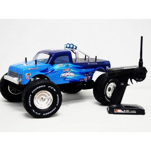 FTX 1/10 Mighty Thunder Brushed Monster Truck RTR Blue 5573b