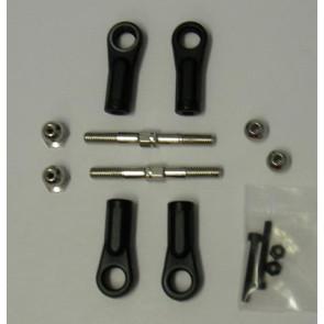 GS Racing Rear Upper Suspension Arm Set GSC-AV020
