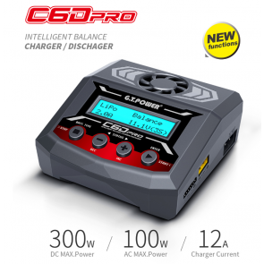 Gt Power C6dpro Battery Charger Nimh/Lipo c6dpro
