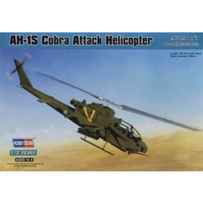 Hobby Boss 1/72 AH-1S Cobra Attack Helicopter 87225