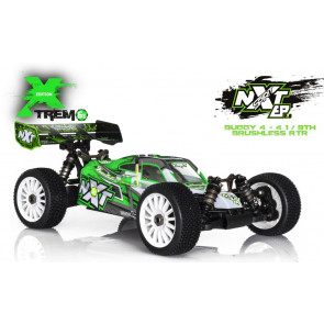 Hobbytech 1/8 Spirit Nxt Extreme Ep 2.0 6S Rtr Offroad Buggy Nxt.Ep-Xtrem